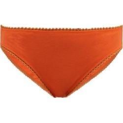 Araks - Isabella Cotton Briefs - Womens - Orange found on MODAPINS from MATCHESFASHION.COM - AU for USD $21.49