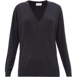 Raey - V-neck Fine-knit Cashmere Sweater - Womens - Navy found on Bargain Bro India from Matches Global for $241.00