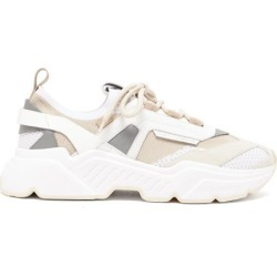 Dolce & Gabbana - Daymaster Leather, Suede And Mesh Trainers - Mens - White found on Bargain Bro from Matches UK for £629