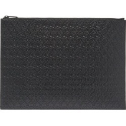 Saint Laurent - Ysl-debossed Large Leather Pouch - Mens - Black found on Bargain Bro UK from Matches UK