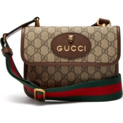 4998cdbada12 Gucci - Gg Supreme Canvas Messenger Bag - Mens - Brown found on MODAPINS  from Matches
