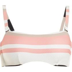 Asceno - Bandeau Striped Bikini Top - Womens - Cream Stripe found on Bargain Bro Philippines from Matches Global for $43.00