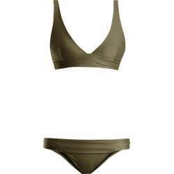 Haight - Low-rise Triangle Bikini - Womens - Khaki found on Bargain Bro Philippines from Matches Global for $86.00