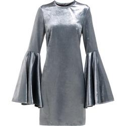 Ellery - Dogma Flared-sleeve Velvet Mini Dress - Womens - Blue found on MODAPINS from MATCHESFASHION.COM - AU for USD $133.52
