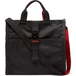Christian Louboutin - Loubiclic Logo Jacquard-trim Tote Bag - Mens - Black found on Bargain Bro UK from Matches UK