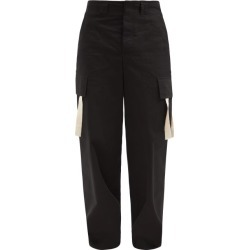 Jacquemus - Alzu Cotton-ripstop Cargo Trousers - Mens - Black found on Bargain Bro UK from Matches UK