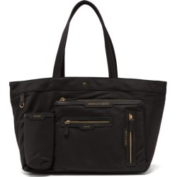 Anya Hindmarch - Multi-pocket Recycled-fibre Tote Bag - Womens - Black found on MODAPINS from Matches UK for USD $645.74