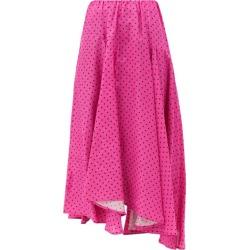 Balenciaga - Polka-dot Jersey Midi Skirt - Womens - Pink Print found on Bargain Bro India from MATCHESFASHION.COM - AU for $1805.74