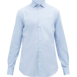 Paul Smith - Artist-stripe Double-cuff Cotton Shirt - Mens - Light Blue found on Bargain Bro UK from Matches UK