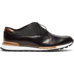 Berluti - Fast Track Leather Trainers - Mens - Black Multi found on MODAPINS from Matches Global for USD $970.00