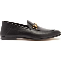 Gucci - Mocassins en cuir Brixton found on Bargain Bro from matchesfashion.com fr for USD $642.20