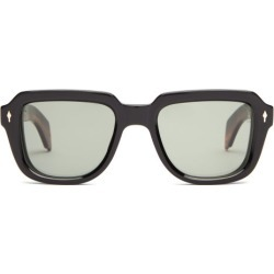 Jacques Marie Mage - Taos Square Acetate Sunglasses - Mens - Black found on MODAPINS from Matches UK for USD $698.90