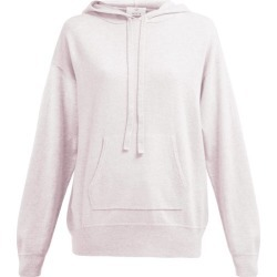 Allude - Wool Blend Hooded Sweater - Womens - Light Pink found on MODAPINS from Matches UK for USD $347.77