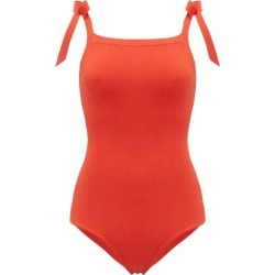 Joostricot - Lina Shoulder-tie Knitted Bodysuit - Womens - Red found on Bargain Bro Philippines from Matches Global for $97.00