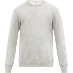 Reigning Champ - Logo-patch Cotton-terry Sweatshirt - Mens - Light Grey found on Bargain Bro Philippines from Matches Global for $125.00
