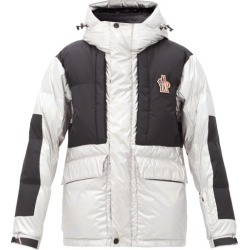 Moncler Grenoble - Breuil Metallic Hooded Down Ski Jacket - Mens - Silver found on Bargain Bro Philippines from Matches Global for $2355.00