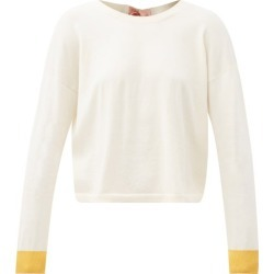 Marni - Tie-back Cotton-blend Sweater - Womens - Ivory found on Bargain Bro UK from Matches UK