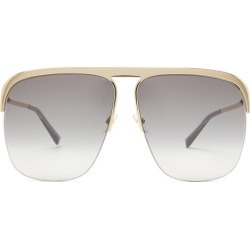 Givenchy - Aviator Acetate Sunglasses - Womens - Black Beige found on Bargain Bro Philippines from MATCHESFASHION.COM - AU for $300.57