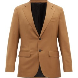 Caruso - Houdini Single-breasted Wool-blend Jacket - Mens - Beige found on MODAPINS from MATCHESFASHION.COM - AU for USD $1363.54