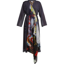 Vetements - Scarf Robe Dress - Womens - Navy found on MODAPINS from Matches Global for USD $477.00