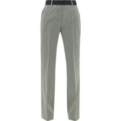 Golden Goose - Marta Houndstooth Wool-blend Trousers - Womens - Grey found on Bargain Bro UK from Matches UK