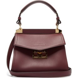 Givenchy - Mystic Small Leather Shoulder Bag - Womens - Burgundy found on Bargain Bro Philippines from MATCHESFASHION.COM - AU for $2784.62