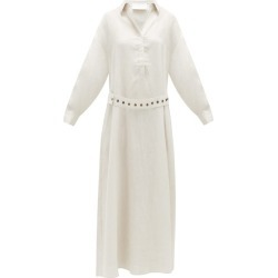 Asceno - Porto Linen Maxi Dress - Womens - Ivory found on MODAPINS from Matches Global for USD $447.00