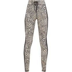 The Upside - Zebra-print Stretch-jersey Leggings - Womens - Animal found on Bargain Bro Philippines from MATCHESFASHION.COM - AU for $126.00