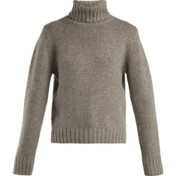 Allude - Roll Neck Cashmere Sweater - Womens - Grey found on MODAPINS from Matches Global for USD $587.00