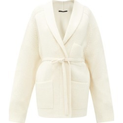 Haider Ackermann - Oversized Wool Wrap Cardigan - Womens - Ivory found on MODAPINS from MATCHESFASHION.COM - AU for USD $1805.74
