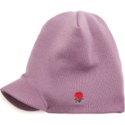 Undercover - Rose-embroidered Beanie Hat - Mens - Purple found on Bargain Bro UK from Matches UK