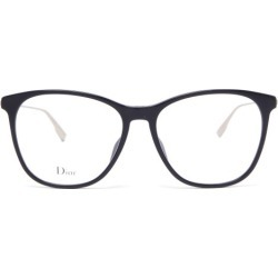 Dior - Diorsight03 Square Acetate Glasses - Womens - Black found on Bargain Bro UK from Matches UK