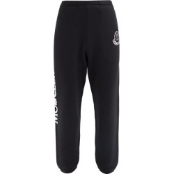 2 Moncler 1952 - Undefeated Cotton-jersey Track Pants - Mens - Black found on Bargain Bro Philippines from Matches Global for $585.00