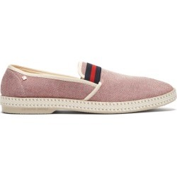 Rivieras - Mocassins en toile tricolore College found on Bargain Bro India from matchesfashion.com fr for $91.00