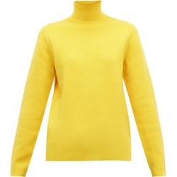 Aztech Mountain - Matterhorn Roll-neck Wool Sweater - Womens - Yellow found on MODAPINS from Matches Global for USD $170.00