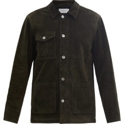 Caruso - Suede Workwear Jacket - Mens - Dark Green found on MODAPINS from Matches UK for USD $2126.38