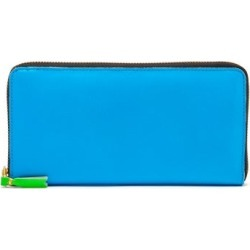 Comme Des Garçons Wallet - Zipped Leather Continental Wallet - Mens - Blue found on Bargain Bro UK from Matches UK