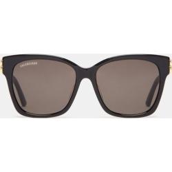 Balenciaga - Bb-logo Acetate Sunglasses - Womens - Black Grey found on Bargain Bro India from MATCHESFASHION.COM - AU for $372.96