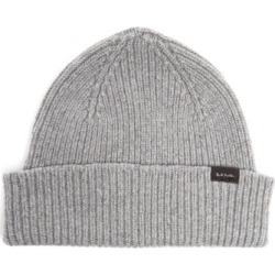 Paul Smith - Ribbed Cashmere-blend Beanie Hat - Mens - Grey found on Bargain Bro UK from Matches UK