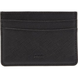 A.P.C. - Andre Saffiano-leather Cardholder - Mens - Black found on Bargain Bro UK from Matches UK