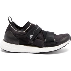Adidas By Stella Mccartney - Ultraboost X Velcro-strap Running Trainers - Womens - Black White found on Bargain Bro UK from Matches UK