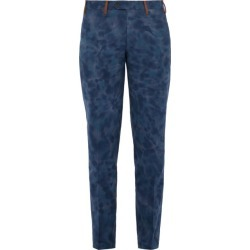 Missoni - Tie-dyed Cotton Trousers - Mens - Blue found on Bargain Bro UK from Matches UK