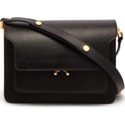 Marni - Trunk Medium Saffiano Leather Bag - Womens - Black found on Bargain Bro UK from Matches UK