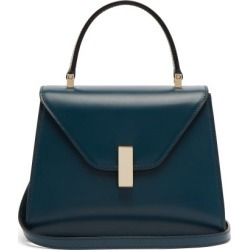 Valextra - Iside Mini Leather Bag - Womens - Blue found on Bargain Bro from MATCHESFASHION.COM - AU for USD $2,210.79