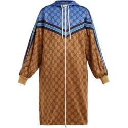 Gucci - GG Technical-jersey Hooded Dress - Womens - Beige Multi found on Bargain Bro India from Matches Global for $4707.00