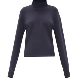 Aztech Mountain - Kristi's Roll-neck Sweater - Womens - Navy found on MODAPINS from Matches Global for USD $195.00