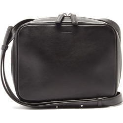 Jil Sander - Logo-debossed Leather Cross-body Bag - Mens - Black found on Bargain Bro UK from Matches UK