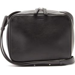 Jil Sander - Logo-debossed Leather Cross-body Bag - Mens - Black found on Bargain Bro UK from Matches UK