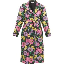 Balenciaga - Belted Floral-print Cotton-twill Trench Coat - Womens - Multi found on Bargain Bro India from MATCHESFASHION.COM - AU for $1312.39