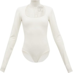 Bottega Veneta - High Neck Cut-out Wool-blend Bodysuit - Womens - Ivory found on Bargain Bro Philippines from Matches Global for $1690.00